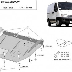 Scut motor metalic Citroen Jumper 1995-2006