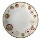 Farfurie din ceramica 20cm cu décor MENDI 1 Seramic
