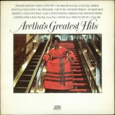 Aretha Franklin Greatest Hits LP (vinyl)