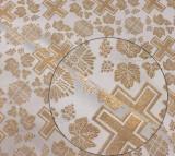 Material veșminte preoțești, auriu Model 3