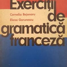 EXERCITII DE GRAMATICA FRANCEZA - Bejenaru, Gorunescu