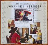 Cumpara ieftin MOZAMBIC-PICTURI-''VERMEER''-COLITA- MNH