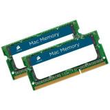 Memorie Corsair KIT 2x4 SODIMM, DDR3, 8Gb, 1066Mhz CMSA8GX3M2A1066C7