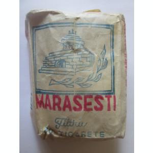 Rar! Pachet tigari Mărășești cu filtru fabricate la Târgu-Jiu,conține 13 țigari