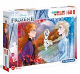 Cumpara ieftin Puzzle Maxi Super Color Frozen 2, 60 piese, Clementoni