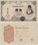 1916 , 1 silver yen ( P-30b ) - Japonia - stare aUNC