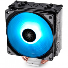 Cooler procesor Gammaxx GTE iluminare RGB, 4 heatpipe-uri direct touch de 6mm, 120mm Hydro Bearing RGB fan