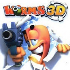 Joc Nintendo Gamecube Worms 3D
