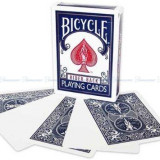 Carti Poker Bicycle Blank Face, albastru