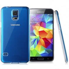Husa SAMSUNG Galaxy S5 Mini - Ultra Slim (Transparent), Silicon, Carcasa