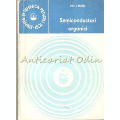 Semiconductori Organici - Gh. I. Rusu