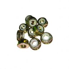 Piulita cap rotativ (MC), pentru motocoasa, set 10 piulite, YTGT-0040.3, manusi incluse
