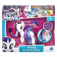Figurina My Little Pony The Movie Sparkling And Spinning Skirt Rarity