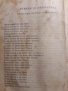 SFANTA SCRIPTURA A VECHIULUI SI A NOULUI TESTAMENT BUCURESTI 1915 - NITZULESCU