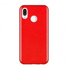 Husa Huawei Y6 2019Y6 Pro 2019 Wozinsky Glitter Shining Rosu
