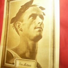 Fotografie Portret- Ion Moina - Marele Atlet Roman , dim.= 25x35 cm