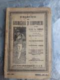 EXERCITII DE GRAMATICA SI COMPUNERI PENTRU CLASA V-A PRIMARA - GH.N. COSTESCU