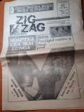 ziarul zig zag 17-26 decembrie 1990-1 an de la revolutie,interviu ion iliescu