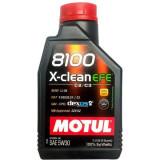 Ulei motor 8100 X-CLEAN EFE 5W30, 1L, Motul