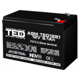ACUMULATOR VRLA 12V 9.1AH F2 TED