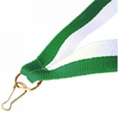 Panglica Verde-Alb pentru medalii