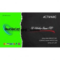 Activare Huawei FRP Unlimited pentru DC-Unlocker