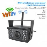 Cumpara ieftin Camera auto WI-FI rezolutie HD pentru marsarier/frontala cu Nightvision 12-24V C500-WIFI PREMIUM