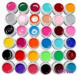 Set de 36 geluri uv colorate
