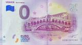 !!!  0 EURO SOUVENIR -  ITALIA , VENETIA  ,  PONTE  RIALTO  - 2019.1 - UNC