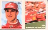 Cumpara ieftin Bernera island masini formula 1,pilot Michael Schumacher 2V. Nedant.mnh, Nestampilat