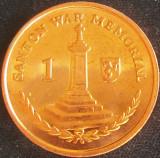 Moneda exotica 1 PENNY - ISLE OF MAN, anul 2016 *cod 2428 = A.UNC, Europa