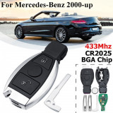 Cheie SmartKey Mercedes Benz 2 Butoane 433Mhz Completa