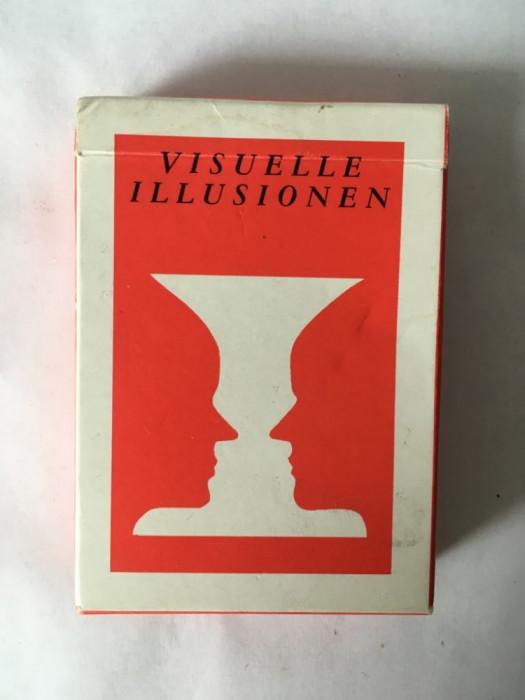 Carti joc Poker cu iluzii optice, set complet, deosebit