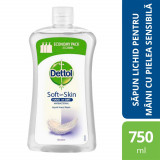 Rezerva sapun lichid Dettol Sensitive, 750 ml