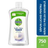 Rezerva sapun lichid Dettol Sensitive, 750 ml