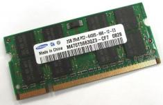 Memorii Laptop 2GB DDR2 PC2 6400S 800Mhz Samsung Hynix Nanya Elpida Kingston foto
