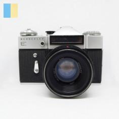 Revueflex E cu obiectiv Helios-44-2 58mm f/2 montura M42, in etui original