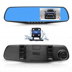 Camera video fata/spate tip oglinda cu MENIU IN ROAMAN