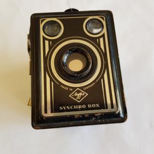 APARAT DE FOTOGRAFIAT -AGFA -SINCHRO BOX - anii 1930