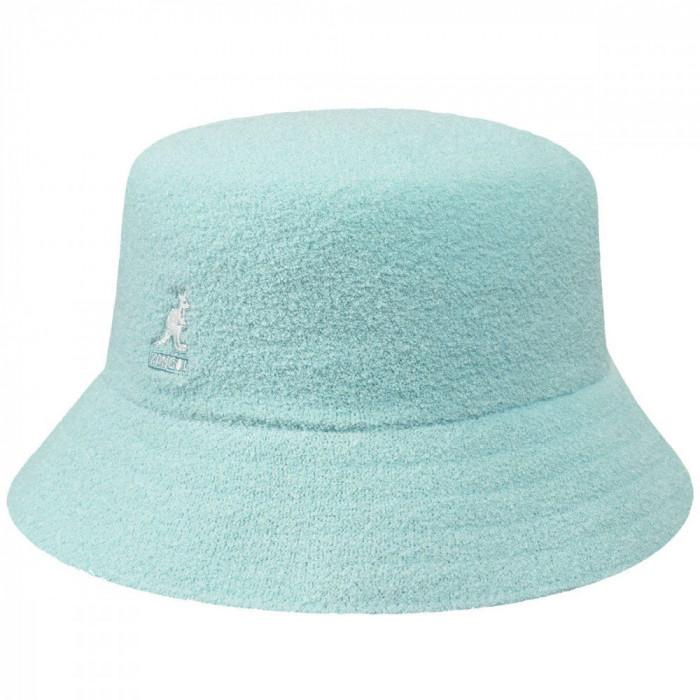 Palarie Kangol Bermuda Bucket Albastru Deschis (Masura : L) - Cod 235225423