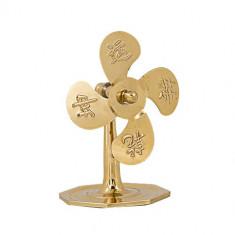 Ventilator Feng Shui auriu