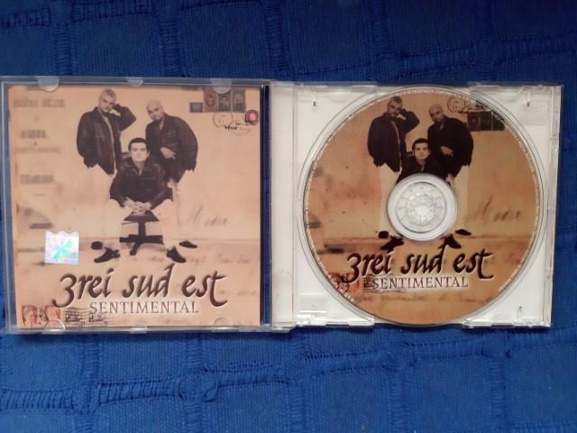 3rei Sud Est - Sentimental, CD original