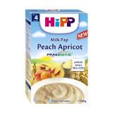 Cereale cu piersici si caise Hipp, 250 g, 4 luni+