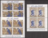 RAS AL KHAIMA 1966 PERSONALITATI J. KENNEDY ( serie dt. cu supr. x 4 ) MNH, Nestampilat