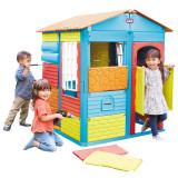 Căsuță de construit Little Tikes SSO1100, 8-10 ani, Multicolor, Textil