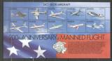 Samoa 1983 Aviation, 200 years manned flights, perf. sheet, MNH S.307