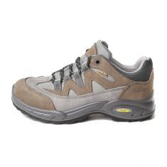Pantofi Femei Trekking Piele impermeabili Grisport Azha Gritex Vibram, 40, 41, Maro