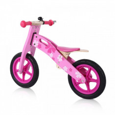 Bicicleta fara pedale pentru copuu, Baby Vivo, roz