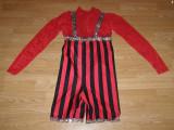 Costum carnaval serbare rochie dans pentru copii de 9-10 ani, Din imagine