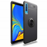 Husa Samsung Galaxy A7 2018 iberry Ring Case Negru, Silicon